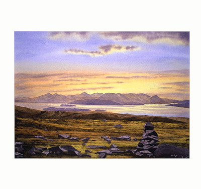 The Isle of Skye from Applecross