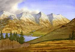 The Five Sisters of Kintail from Mam Ratagan